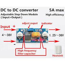 DC Spannung swandler 5V 1,25V-36V to 6V 12V 24V Step Down Converter Regulator