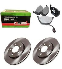 FRONT BRAKE DISCS AND BRAKE PADS FITS VW GOLF FOX POLO