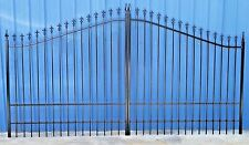 Steel   Iron Driveway Gate 12 Ft Wide Single Swing,   Residential Home  Security