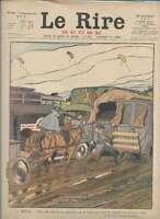 Journal Le RIRE Rouge, édition de guerre N° 146 du 1 septembre 1917