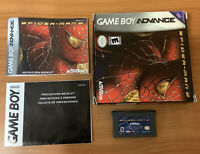 Nintendo Gameboy Advance SPIDERMAN 2 Complete GBA Game Rare Box Manual Marvel