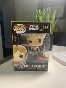 Funko Pop Star Wars Retro Luke Skywalker #453 Target Exclusive