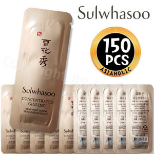Sulwhasoo Concentrated Ginseng Renewing Serum 1ml x 150pcs (150ml) Sample Newist