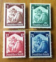 EBS Germany 1935 - Saar Plebiscite - Saarabstimmung - Michel 565-568 MNG (*)