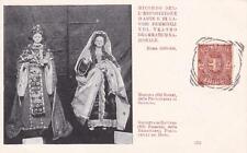 C4118) ROMA 1899, LAVORI FEMMINILI, BAMBOLE MAROZIA E GIUDITTA DI BAVIERA. VG