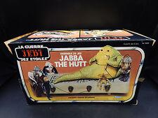 MINT vintage Kenner Canada JABBA the HUTT playset STAR WARS Canadian UNUSED mib