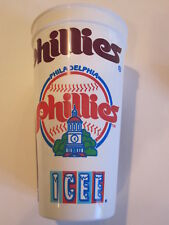Philadelphia Phillies Icee souvenir plastic cup vintage
