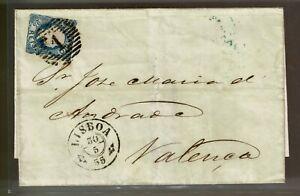 Portugal, 1855/6, Lisboa-Valença