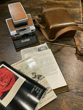 Polaroid SX-70 Land Camera with leather case