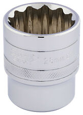 ORIGINAL DRAPER 1.3cm embout carré Hi-Torq 12 points Douille (28mm) 33518