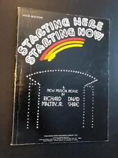Starting Here Starting Now - Richard Maltby Jr. David Shire - Vintage