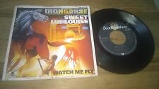 """7"""" Rock Ironhorse - Sweet Lui-Louise / Watch Me Fly (2 Song) SCOTTI BROTHERS BTO"""