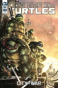 TMNT Ninja Turtles #100 (IDW) - Cover RI B (1:25 Incentive) by Freddie Williams