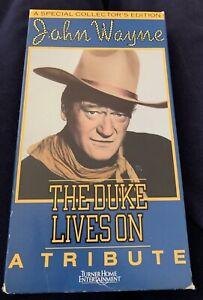 John Wayne:  The Duke Lives On (VHS)
