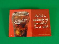 Coca Cola - Add a Splash of Vanilla Just 20 cents - AD Button