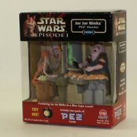 Hasbro - Star Wars Episode 1 - Jar Jar Binks PEZ Hander *NON-MINT BOX*