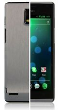 Skinomi Brushed Aluminum Full Body Cover+Screen Protector for Huawei Ascend P1
