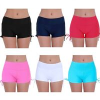 Women Swim Boardshorts Beach Swimming Shorts Briefs Bikini Bottom Pant Trunks
