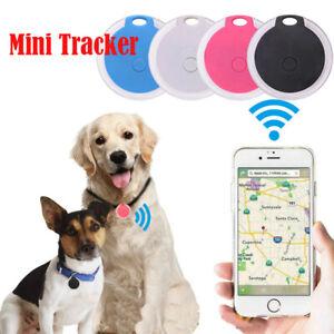 Mini Bluetooth Pet Anti-lost GPS Tracker Finder Device For Kids Cat Dog Keys UK