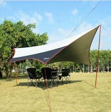 Waterproof 20ft Rainfly Camping Patio Yard Beach Gazebo Awning Canopy Tent NEW