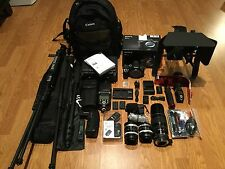 NEWSony Alpha DSLR A7RII A7R II 42.4MP 4K Full Frame,Digital SLR CameraW/MATTBOX