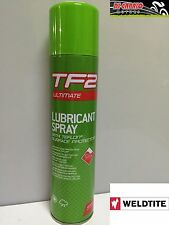 LUBRIFICANTE SPRAY WELDTITE TF2 150ml AL TEFLON  per catena BICI MTB MULTIUSO