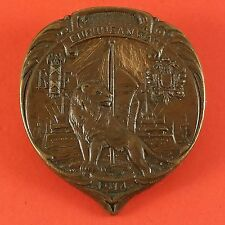 1914 European War Pin With France & Russia Crest With Lion & Ship