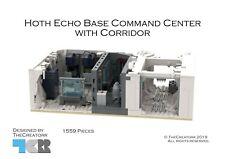 LEGO® StarWars™ -Instruction Manual- Hoth Echo Base Command Center with Corridor