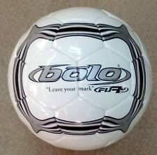 Bulk Wholesale Lot New Fury Soccer Ball Hand Stiched Size 4 Blk/Sil (10 Balls)