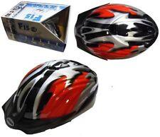 Cascos de ciclismo rojo