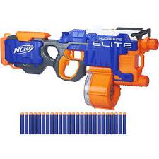 NEW Nerf N-Strike Elite HyperFire Blaster Gun Outdoor Toy  W