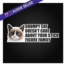 My Family Stickers ** Grumpy Cat EDITION ** Making Stick Figure Novelty Mum