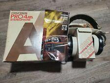 RARE Vintage KOSS Pro 4AAA Audiophile Studio Headphones NIB Never Used RARE