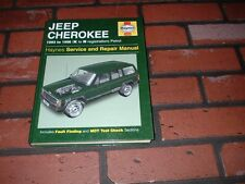 JEEP CHEROKEE HAYNES MANUAL.1993 TO 1996. K TO N REGISTRATION.