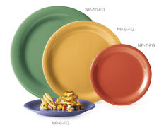 "G.E.T. Np-9-* 2 Dozen - 9"" Narrow Rim Melamine Plate Available in 10 Clrs"
