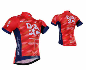 2021 New Mens Team Bicycle Cycling Clothes Short Sleeve Jersey Shirt