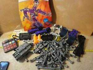 Robotix Wireless Radio Control Robot Builder Set. Radioshack parts, pieces lot.