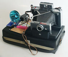 POLAROID AUTOMATIC 100 LAND CAMERA KIT WITH CASE