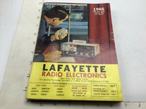 vintage Catalog -- LAFAYETTE RADIO ELECTRONICS  -- 1966 -- 512pgs