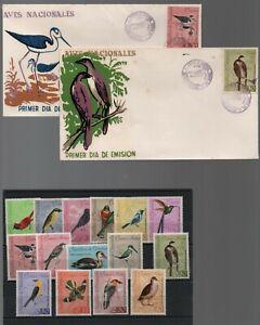 Venezuela: 1962; Scott 818-824, C811 - C818 + 13 F.D.C + 4 with special.. VS0181