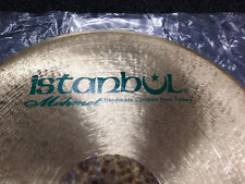 "Istanbul Mehmet Horacio ""El Negro"" Hernandez Signature 22"" Flat Ride Cymbal"