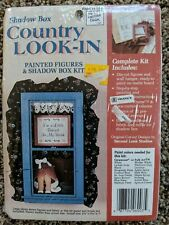 "Shadow Box Country Look-In ""I'm a Little Behind in My Work"" - Sealed Paint Kit"