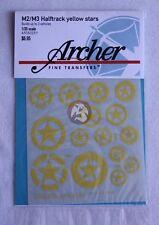 Archer 1/35 M2 / M3 Halftrack Yellow Stars (builds 3 vehicles) AR35225Y