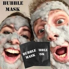 Detox Oxygen Bubble Sheet Mask Moisturizing Black Facial Whitening Face Care