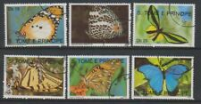 St Thomas & Prince Islands - 1990 Butterflies set - F/U