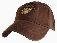 U.S MARINE CORPS HAT U.S MILITARY USMC OFFICIALY LICENSED With EGA BASEBALL CAP