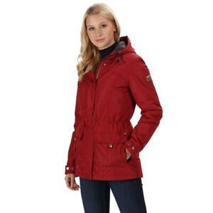 bnwt Regatta Braelynn Womens Waterproof Insulated Jacket Delhi Red uk12