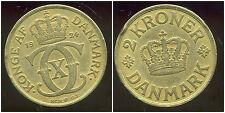 DANEMARK   2 kroner  1924