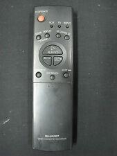 Genuine Sharp TV/AV/VCR Remote MODEL : G0031AJ