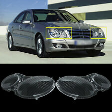 Headlight Headlamp Lens Replacement Cover RIGHT Side for MERCEDES BENZ E CLASS